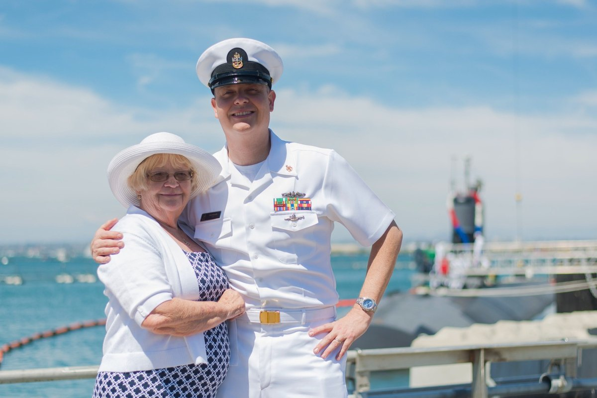 navy family veteran spouse